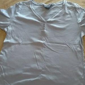 Short sleeve henley